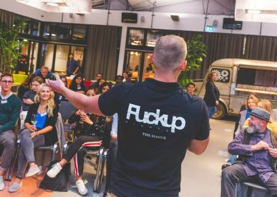 Ninjafy's Fuckup Nights in The Hague